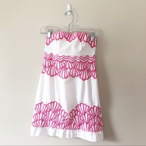 Lilly Pulitzer Bowen Dress in Why the Shell Not